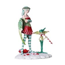 Naughty List Fairy Figurine Faery Figure Amy Brown Christmas yule faerie statue