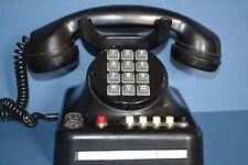 Genuine Standard Electric Bakelite Push Button Telephone, Marked on Base, c1940