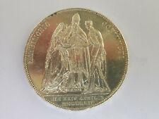 L3009      HABSBURG 1,- Gulden 1854 Hochzeit