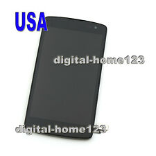 Assembly LCD Display Touch Screen Digitizer Frame For LG Optimus F60 MS395 Black