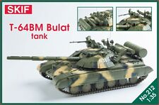 T-64 BM Bulat-tanque de batalla principal de Ucrania 1/35 SKIF Raro