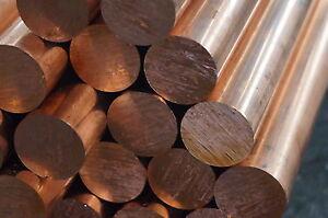 Kupfer E-Cu Rund ø 60 mm Länge: 10 - 50 mm Rundstange  EN CW 004 A