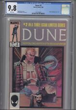 Dune #2 CGC 9.8: 1985 Marvel Movie Based Comic : New Frame