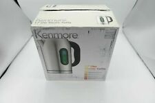 Kenmore 30428 Electric Tea Kettle with Digital Display in Stainless Steel