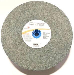 "Carborundum 8"" x 1"" x 1"" Grinding Wheel Silicone Carbide Bench & Pedestal Wheel"