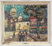 Preben Rasmussen (1919-?): SCENE FROM PARIS