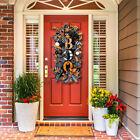 Halloween Swag Wreath Fall Wreath Outdoor Front Door Indoor Wall Decor Ornament