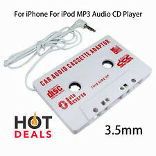 3.5mm Car Stereo Cassette Tape Adapter For iPhone For iPod Mp3 Audio Cd Player