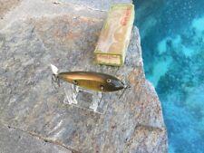 Creek Chub Plastic injured Minnow Lure- Unusual Color with Box!