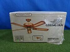 """Windmachines 52"""" ceiling fan New"""