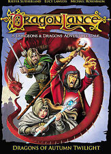 1 CENT DVD Dragonlance: Dragons of Autumn Twilight (Animated) Lucy Lawless