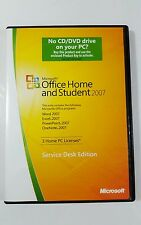 Microsoft Office Home and Student 2007 service desk edition includes product key