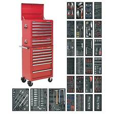 Sealey Tool Chest Combo 14 Drawer/Ball Bearing Runners 1179pc Tool Kit-SPTCOMBO1