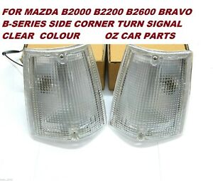 FOR MAZDA B2000 B2200 B2600 BRAVO B-SERIES SIDE CORNER TURN SIGNAL 1985-1996 NEW