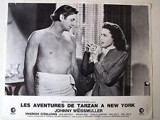 JOHNNY WEISSMULLER PHOTO EXPLOITATION LOBBY CARD TARZAN A NEW-YORK MGM