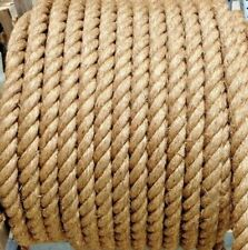 """2"""" Premium Treated Manila Rope Natural Cut To Length Order By The Foot $2.69/ft"""