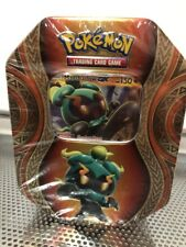 Pokemon Trading cards Game-Sealed Tin Box (Gyarados on cover) NEW