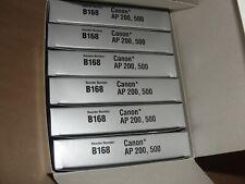 Nukote Canon B168 Typewriter Ribbons Ap200 Ap500 New In Box