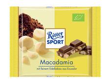 3 x Ritter Sport (Macadamia) = 195g / 0.4lb / 100% Organic
