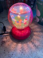 Hello Kitty Rotating Plug In Lamp. 120 Volt A.C.