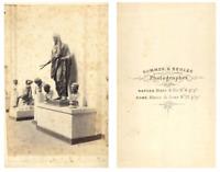 Sommer et Behles, Italie Une sculpture CDV vintage albumen carte de visite,  T