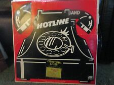 the j.geils band   atl 18147   hotline  die-cut with booklet,promo