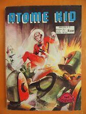 Atome Kid. L'astre interdit. N° 27 du 07/1976. Collection Cosmos