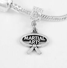 Martial Arts charm only martial arts fighter charm karate judo best jewelry gift