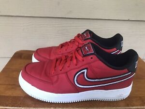 Nike Air Force 1 LV8 (GS) 'B'-NOBOXLID Youth Red Sneakers CD7405-600 Size 5Y