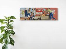LEVIS Jeans vintage années 1950 bannière signe