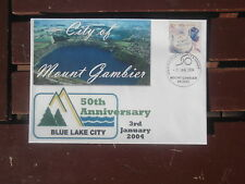 50Th Anniversary City Of Mount Gambier Special Postmark & Cover 2004
