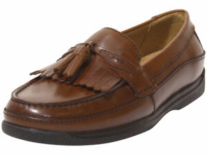 Dockers Men's Sinclair Loafers Kiltie Tassel Antique Brown