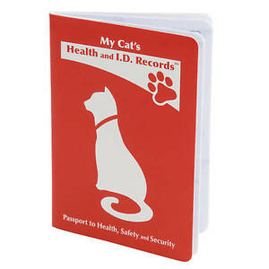 Cat Health and I.D. Record    ST PATTYS SALE