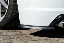 Heckansatz Diffusor Spoilerecken Seitenteile aus ABS für Audi TTS 8S