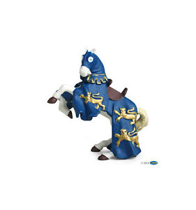 PAPO 39339 BLUE King Richard horse for knight Knights figurine Medieval figure