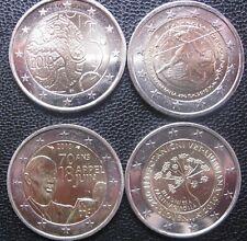 * GRECIA 2010 + LOTTO PAESI VARI  TOTALE 4 MONETE DA   2 EURO FDC LEGGERE!!!