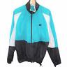 A130 Vintage Nike Swoosh Color Block Windbreaker Full Zip Jacket Men's Size M