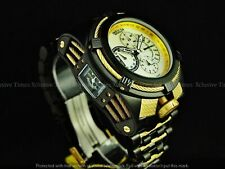 Invicta Men 56mm Bolt Zeus Tria Black Ion Plated Stylish Chronograph Swiss Watch