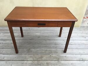 Vintage Abbess H110 Writing Desk Office Desk 1960's Removable Legs - Collectable