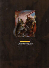 GAMES WORKSHOP-Gesamtkatalog 2005-ORKS-ZWERGE-SPACE MARINES-DÄMONENJÄGER-TAU-rar