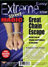 Extreme Street Magic:  Great Chain Escape - Break Free of Chains and Padlock!