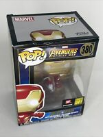 Funko Pop! Iron Man LIGHTS UP #380 Walgreens Marvel Avengers Infinity War