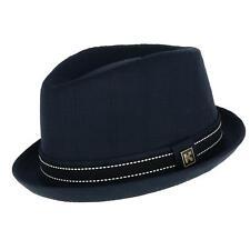 New Kenny K Men's Upturned Brim Fedora with Hatband