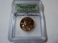 2000 P  SACAGAWEA  -  GLENNA GOODACRE  -- DOLLAR SIGNED  -- ICG # 2511/5000