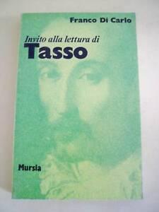 DI CARLO*INVITO ALLA LETTURA DI TASSO MURSIA