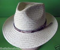 CAPPELLI UOMO IN PAGLIA, STRAW  HATS