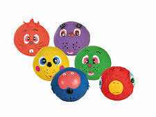 Trixie Dog Puppy Squeak Toy Ball With Face - Perfect for Fetch, Latex For Teeth