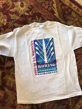 Vintage 1997 NCAA Women's Rowing Championship Sacramento Double Stitch