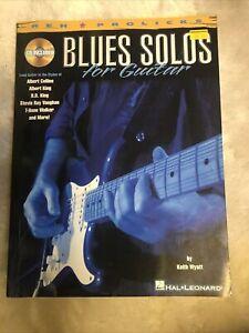 Blues Solos for Guitar: Guitar Solo: Instrumental Tutor
