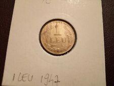 ROMANIA - 1 LEU 1947 - COINS